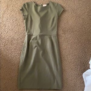 Fitted business casual dress